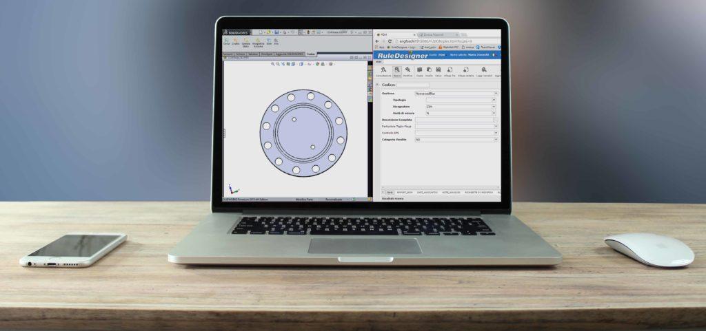 Integrazione con SolidWorks