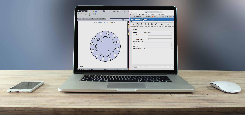 PDM integrato con SolidWorks