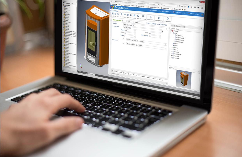 PDM integration for Inventor