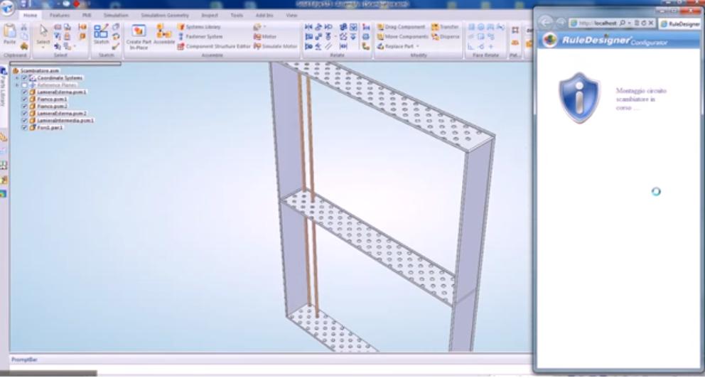 Configurator integrato con Solid Edge