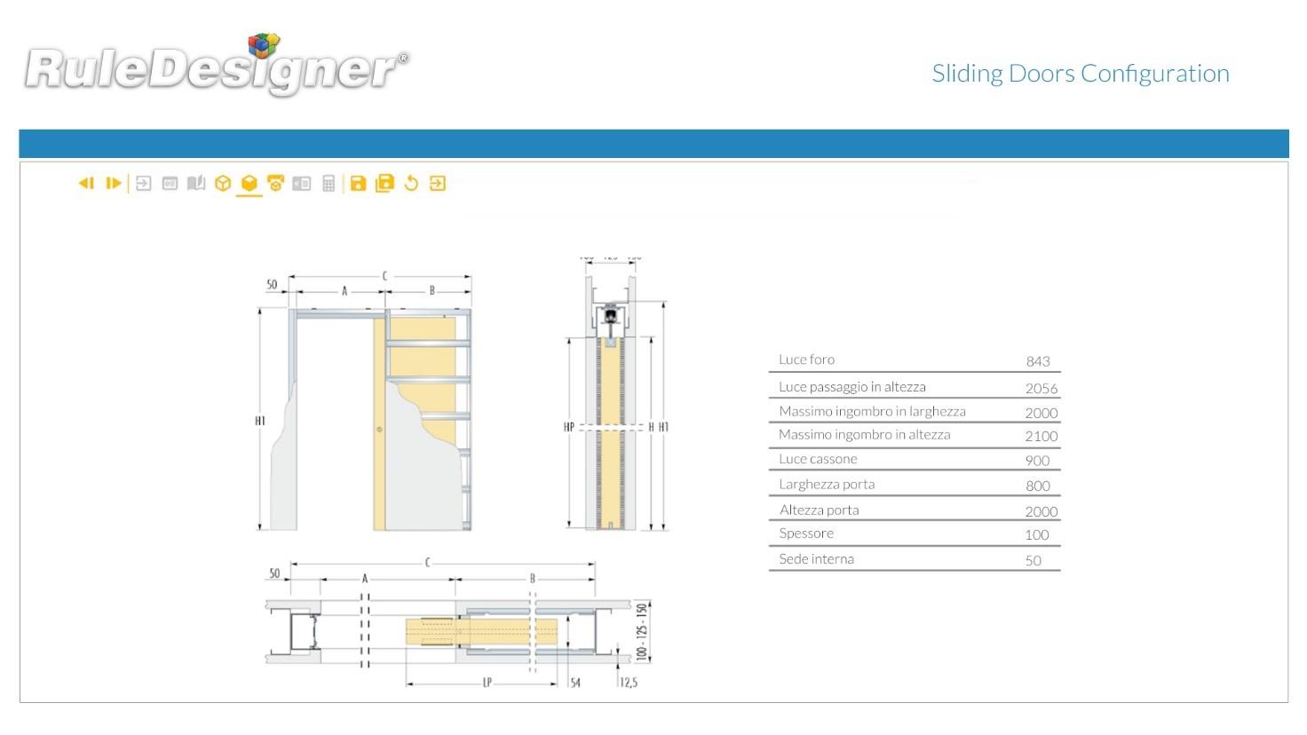 SlidingDoorsConfigurations