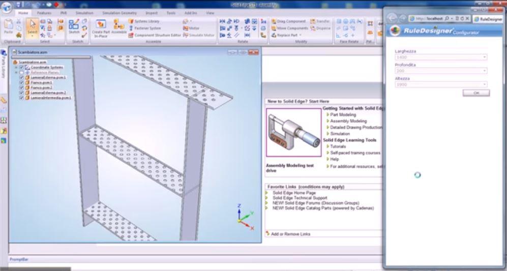 RuleDesigner Configurator | Heat Exchanger Configurator