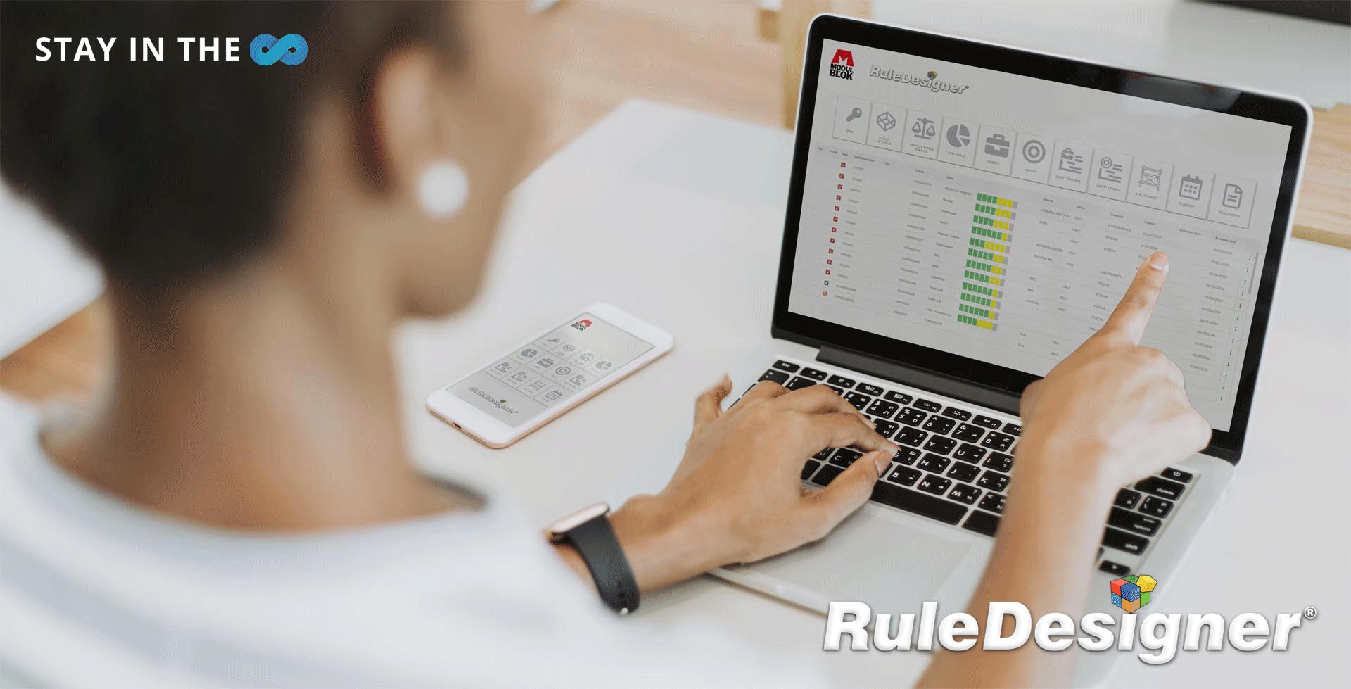 Premio Value Chain 4.0 a Modulblok spa per l'elevato grado di digitalizzazione raggiunto grazie a RuleDesigner