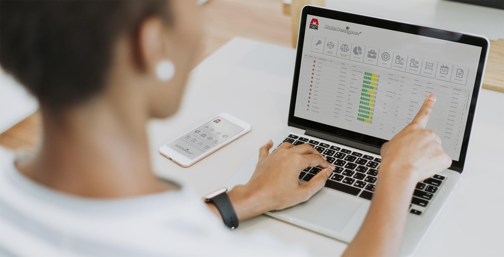 RuleDesigner tecnologia abilitante premio value chain 4.0 Modulblok