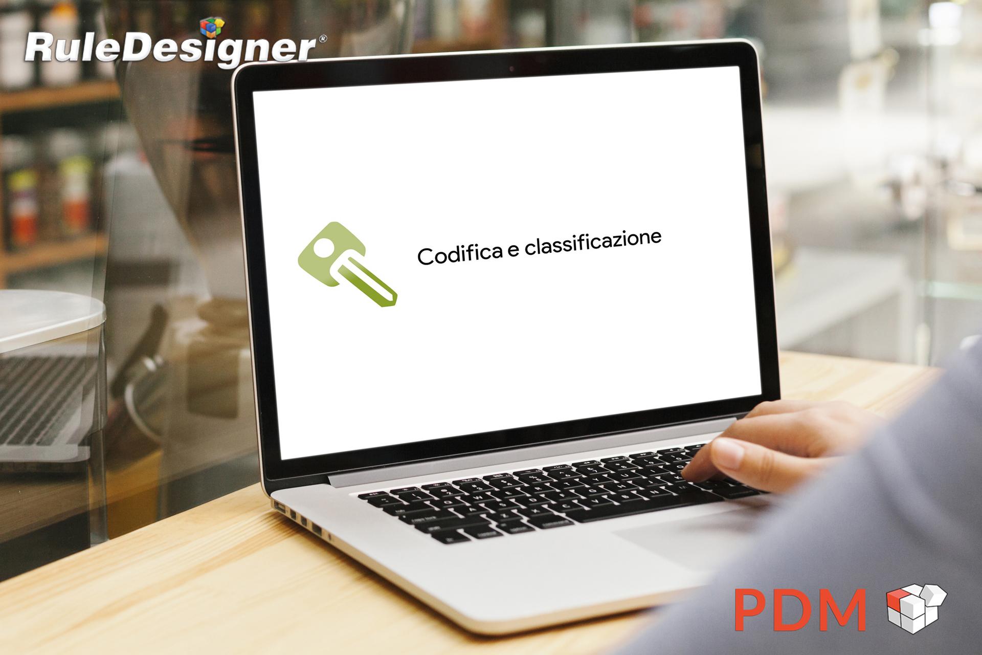 Video RuleDesigner PDM | Codifica e Classificazione
